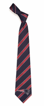 New England Patriots Woven Poly 1 Necktie