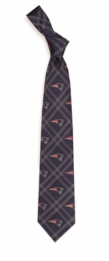 New England Patriots Woven Poly 2 Necktie