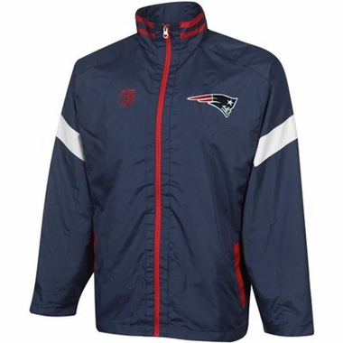 New England Patriots YOUTH Goal Post Lightweight Full Zip Jacket