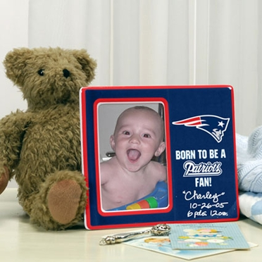 New England Patriots Youth Picture Frame