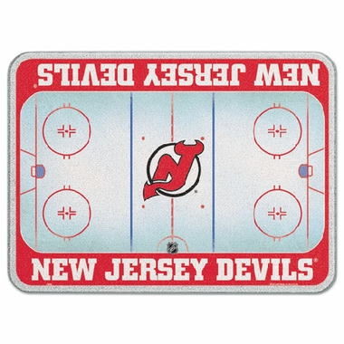 New Jersey Devils 11 x 15 Glass Cutting Board