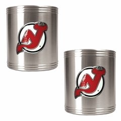 New Jersey Devils 2 Can Holder Set