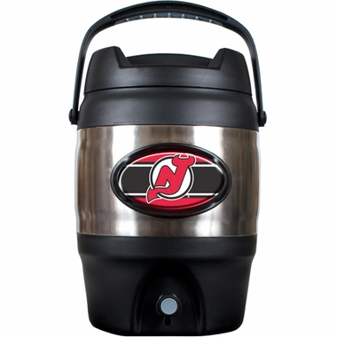 New Jersey Devils 3 Gallon Stainless Steel Jug