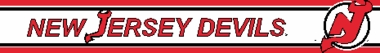 New Jersey Devils 5.5 Inch (Height) Wallpaper Border