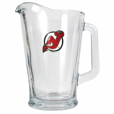 New Jersey Devils 60 oz Glass Pitcher