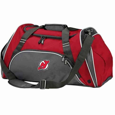 New Jersey Devils Action Duffle (Color: Red)