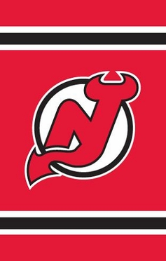 New Jersey Devils Applique Banner Flag