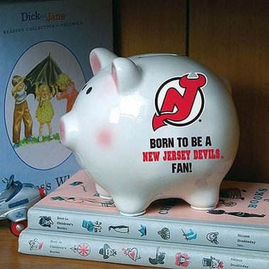New Jersey Devils (Born to Be) Piggy Bank