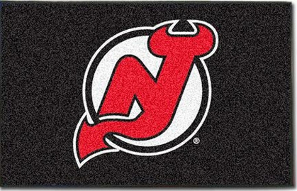 New Jersey Devils Economy 5 Foot x 8 Foot Mat