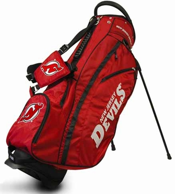New Jersey Devils Fairway Stand Bag