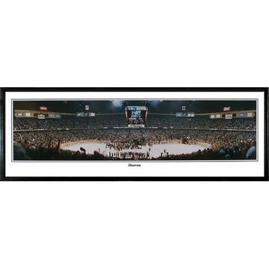 New Jersey Devils Heaven Framed Panoramic Print