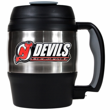 New Jersey Devils Jumbo Heavy Duty Travel Mug