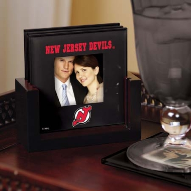 New Jersey Devils Photo Coaster Set