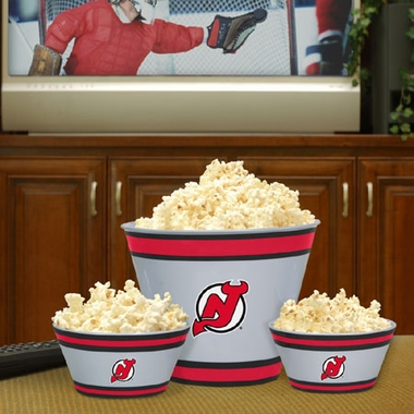 New Jersey Devils Plastic Serving Set