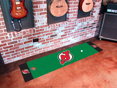 New Jersey Devils Putting Green Mat
