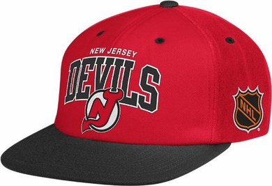 New Jersey Devils Retro Arch Snapback Hat