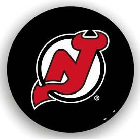 New Jersey Devils Black Tire Cover - Standard Size