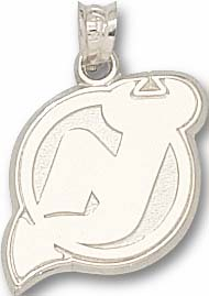 New Jersey Devils Sterling Silver Pendant