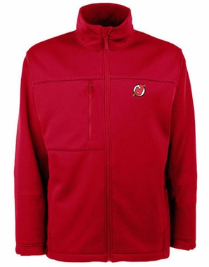New Jersey Devils Mens Traverse Jacket (Team Color: Red)