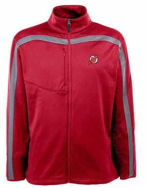 New Jersey Devils Mens Viper Full Zip Performance Jacket (Team Color: Red)