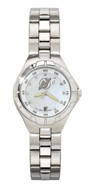 New Jersey Devils Women's Pearl Watch