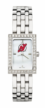 New Jersey Devils Women's Steel Band Allure Watch