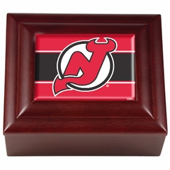 New Jersey Devils Wooden Keepsake Box