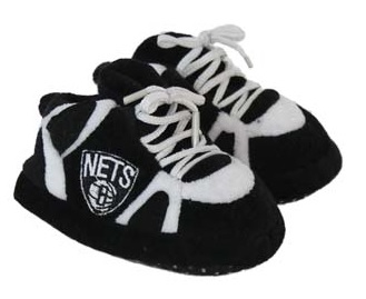 Brooklyn Nets Baby Slippers