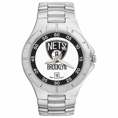 Brooklyn Nets Pro II Men's Stainless Steel Watch