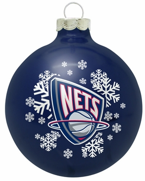 New Jersey Nets Traditional Ornament