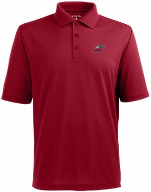 New Mexico Mens Pique Xtra Lite Polo Shirt (Color: Red)