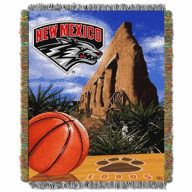 New Mexico Woven Tapestry Blanket