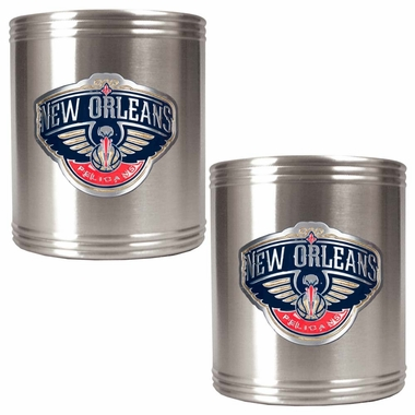 New Orleans Pelicans 2 Can Holder Set