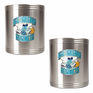 New Orleans Hornets 2 Can Holder Set