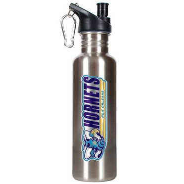 New Orleans Hornets 26oz Stainless Steel Water Bottle (Silver)