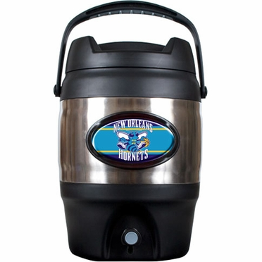 New Orleans Hornets 3 Gallon Stainless Steel Jug