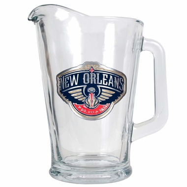 New Orleans Pelicans 60 oz Glass Pitcher