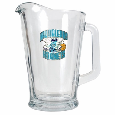 New Orleans Hornets 60 oz Glass Pitcher