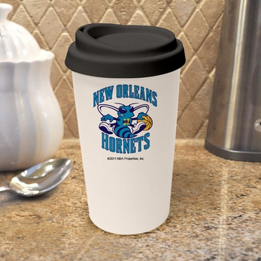 New Orleans Hornets Ceramic Travel Cup