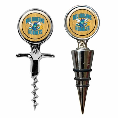 New Orleans Hornets Corkscrew and Stopper Gift Set