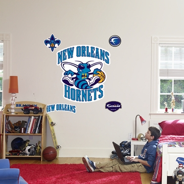 New Orleans Hornets Logo Fathead Wall Graphic