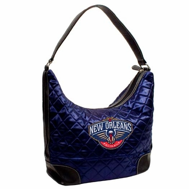 New Orleans Pelicans Quilted Hobo Purse