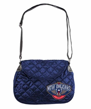New Orleans Pelicans Quilted Saddlebag