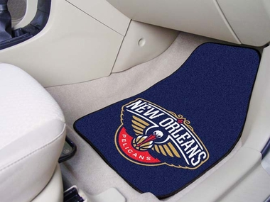 New Orleans Pelicans 2 Piece Car Mats