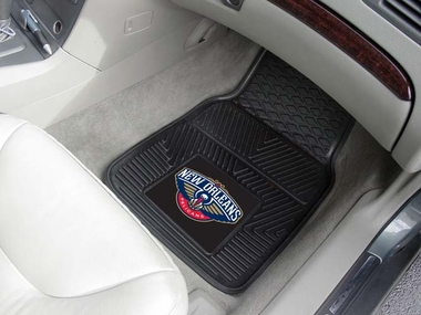 New Orleans Pelicans 2 Piece Heavy Duty Vinyl Car Mats