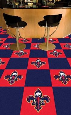 New Orleans Pelicans Carpet Tiles
