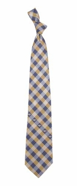 New Orleans Pelicans Check Poly Necktie