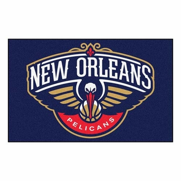 New Orleans Pelicans Economy 5 Foot x 8 Foot Mat