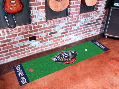 New Orleans Pelicans Putting Green Mat