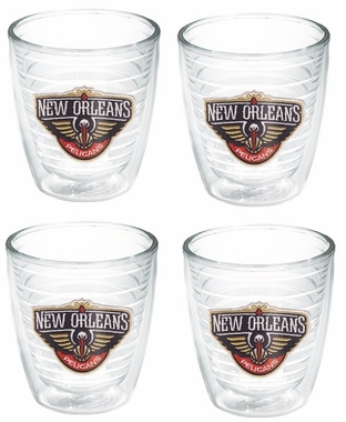 New Orleans Pelicans Set of FOUR 12 oz. Tervis Tumblers